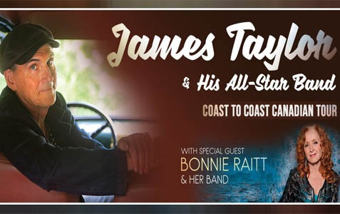 James Taylor With Bonnie Raitt