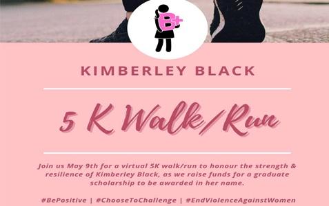 Kimberly Black - 5K Walk/ Run
